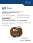 S-ICD System Patient Spec Sheet