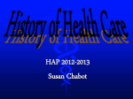 History of Health Care - Lemon Bay High School