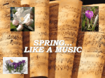 Spring is like music - Poland