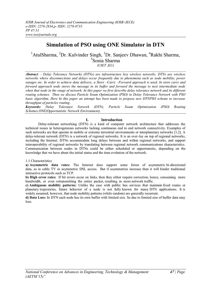 atul sharma research paper on ftp