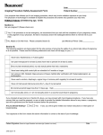 Imaging Procedure Safety Assessment Form