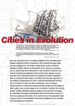 Why city evolution? How is evolution different from development