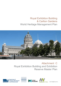 Royal Exhibition Building and Exhibition Reserve Master Plan