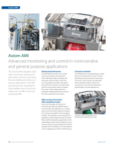 Axiom AMI brochure