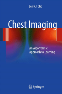 Chest Imaging: An Algorithmic Approach to Learning