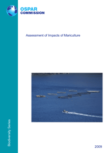 Assessment of Impacts of Mariculture Year