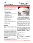 2-Wire and 4-Wire Ionization Smoke Detector