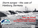 Storm surges – the case of Hamburg, Germany