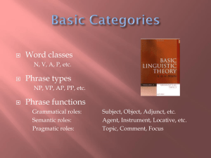408-6 Basic categories