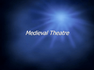 Medieval Theatre - GHS Foothiller Players