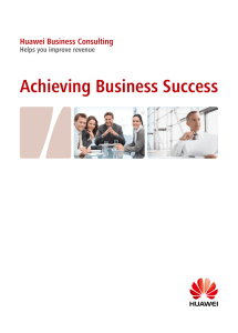 Achieving Business Success