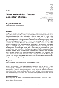 Visual rationalities: Towards a sociology of images