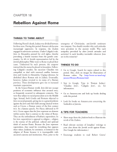 Rebellion Against Rome