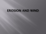 Erosion and Wind