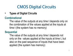 CMOS Digital Circuits