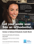 October is National Orthodontic Health Month