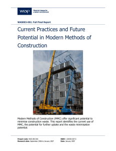 Current Practices and Future Potential in Modern Methods of