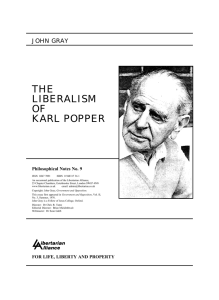 the liberalism of karl popper
