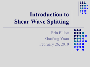 Shear-Wave Splitting