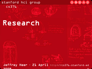 Research - Stanford HCI Group