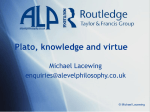 Plato, knowledge and virtue