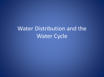 Water and the Water Cycle - Ms. Dawkins