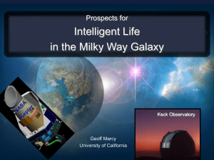Intelligent Life in the Milky Way Galaxy