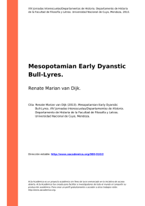 Mesopotamian Early Dyanstic Bull-Lyres