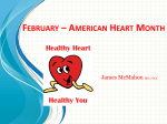 Heart Health (Mrs. McMahon)