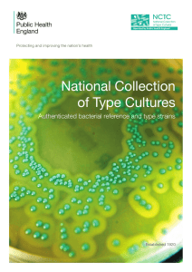 National Collection of Type Cultures