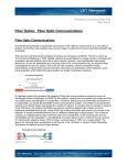 Fiber Optics: Fiber Optic Communications
