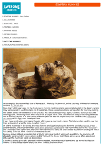 Mummies: Bodies Talk