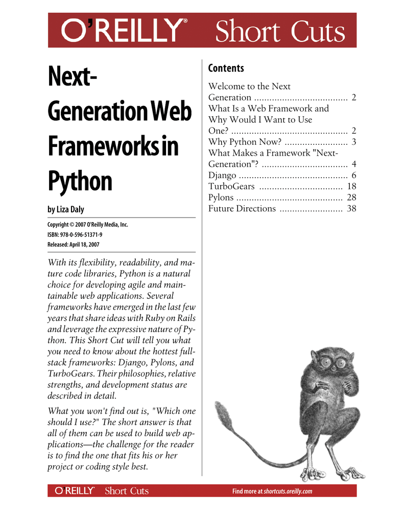 Next-Generation Web Frameworks in Python
