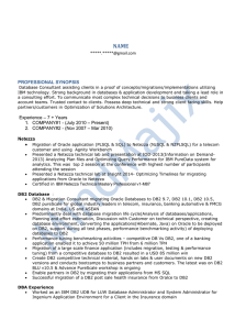 IBM Netezza sample resume-2