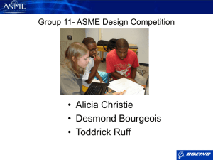 ASME Design Competition