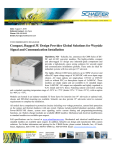 Compact, Rugged 3U Design Provides Global Solutions for Wayside