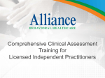 Comprehensive Clinical Assessment Training for Licensed