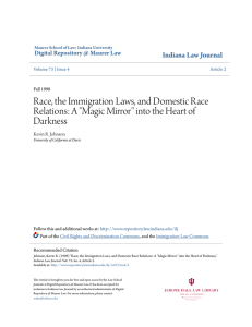 Race, the Immigration Laws, and Domestic Race Relations: A `Magic