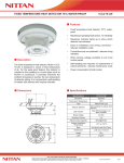 FIXED TEMPERATURE HEAT DETECTOR 70°C WATER