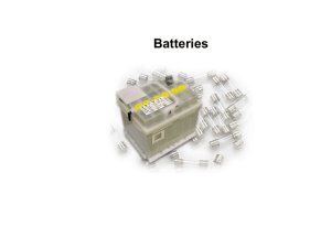 Batteries (Level 2) File - Totton College