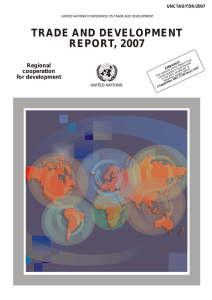 Trade and Development Report 2007