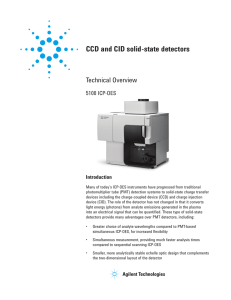 CCD and CID solid-state detectors