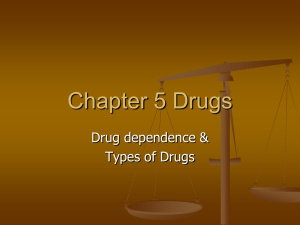 Chapter 5 Drugs - Madison Public Schools