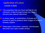 Application of Lenses