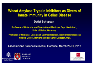 Wheat Amylase Trypsin Inhibitors as Divers of Innate Immunity in