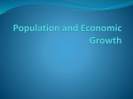 Population and Economic Growth