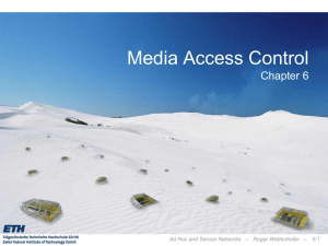 Media Access - Distributed Computing Group