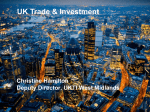 UKTI London Trade Presentation Jan 2015