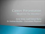 Cancer Presentation - Isle of Wight NHS Trust
