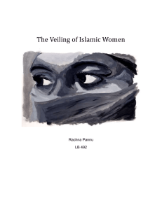 The Veiling of Muslim Women